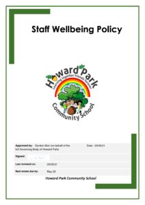 Staff Wellbeing Policy